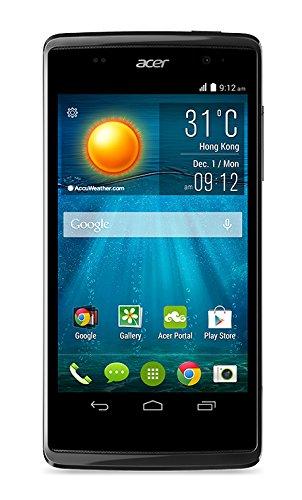 Acer Liquid Z500 Duo Smartphone, 4 GB, Dual SIM, Nero/Antracite [Italia]