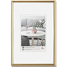 walther design KG913H Galeria picture frame, 3.5 x 5 inch (9 x 13 cm), gold