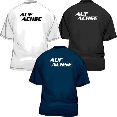 Auf Achse T-Shirt, Fanshirt zur Kult TV-Serie, marineblau, XXL -
