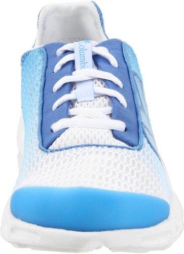 Columbia DRAINMAKER BL3673 Damen Sneaker Bianco (Blanc/bleu)