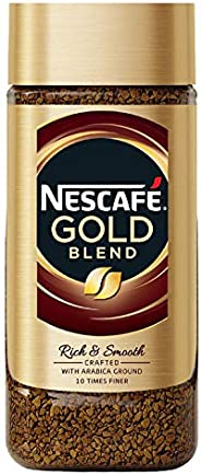 Nescafe Gold Blend Rich and Smooth Coffee Powder, 100g Glass Jar