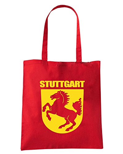 T-Shirtshock - Borsa Shopping TSTEM0254 stuttgart Rosso