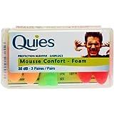 QUIES : Protection auditives confort foam
