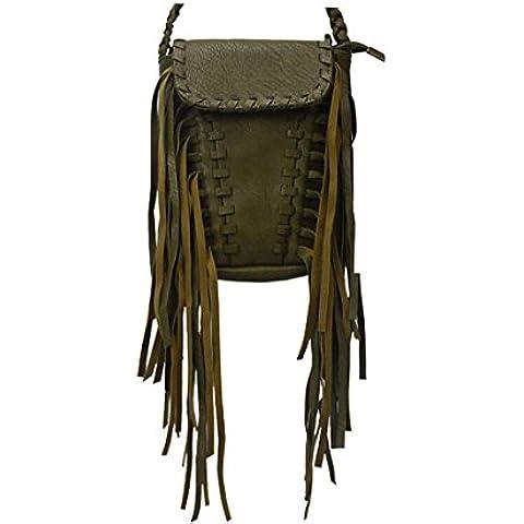 Cocominibox - Borsa a tracolla donna - Tribal Pouch
