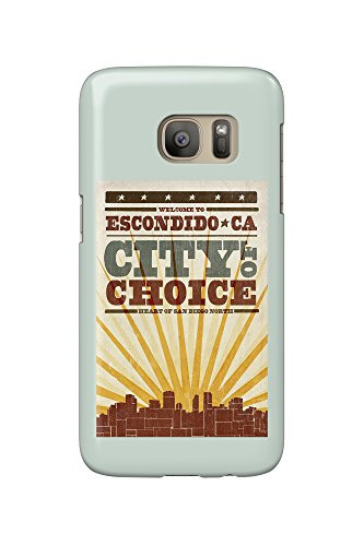 escondido-california-skyline-and-sunburst-screenprint-style-galaxy-s7-cell-phone-case-slim-barely-th
