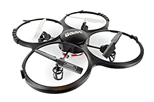 GoolRC Upgraded UdiR/C U818A HD 6-Axis Gyro RC Quadcopter RTF UFO with 720P HD Camera Headless Mode and One-key Return Quad by GoolRC