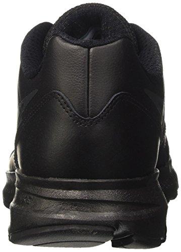Nike Downshifter 6 Ltr (Gs/Ps), Scarpe da Corsa Uomo Nero (Black/black-anthracite)