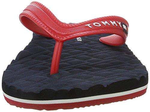 Tommy F2285loyd 19r De Hilfiger 611 Zehentrenner Red Sm Rot tango Herren 4P4qSr