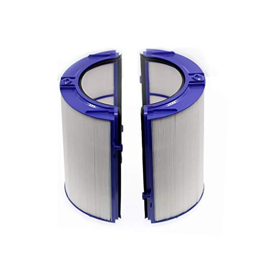 jgashf Filtro HEPA de Vidrio Purificador y Filtro Interior de Carbón Activado para Dyson Replacement TP04 / HP04 / DP04 / TP05 / HP05 Sistema de Filtro Sellado de 360 ° de Dos Etapas