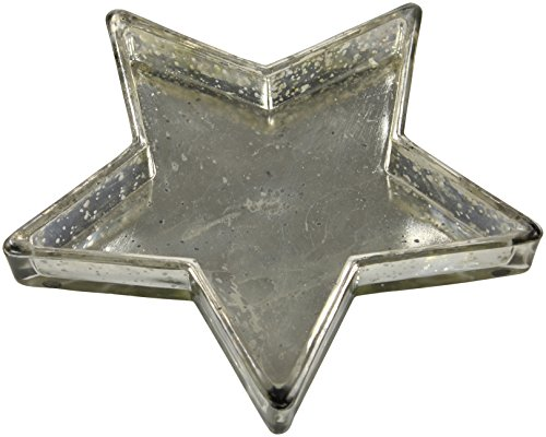 Deko Glas-Teller Stern (Glas Sterne-schalen)