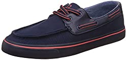 United Colors of Benetton Mens Navy Blue Boat Shoes - 8 UK/India (42 EU)