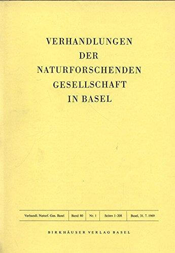 Verhältnis von Körperentwicklung und Cerebralisation in Ontogenese und Phylogenese der Säuger, in: VERHANDLUNGEN DER NATURFORSCHENDEN GESELLSCHAFT IN BASEL, Band 80, 1/1969.