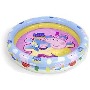 Peppa Pig - Piscina Hinchable, 90 cm (Saica Toys 9113)