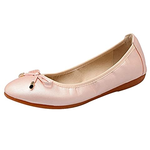 Chaussures plates, chaussures de sport maternité(Poudre,39)