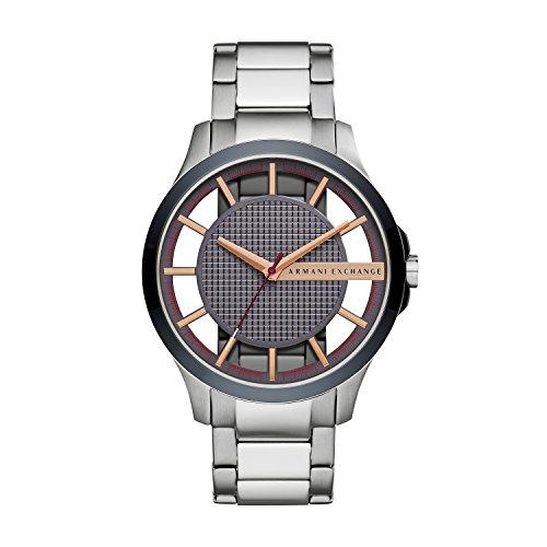 beb01a743ed9 Armani Exchange Reloj Analógico para Hombre de Cuarzo con Correa en Acero  Inoxidable AX2405