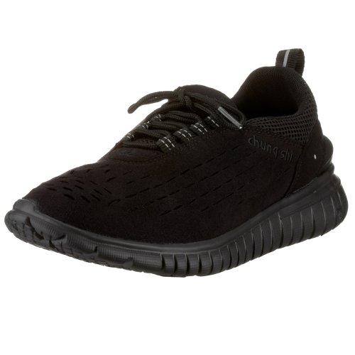 Chung Shi Duflex Trainer Unisex-Erwachsene Sneaker, Schwarz (Schwarz 8800010), 44/45 EU -