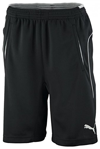 Puma Trainings Short rt ebony-ebony, Größe Puma:L