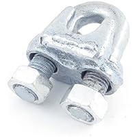 Aexit U-Bolzen, Metall, Gewerbe, Industrie & Wissenschaft für Drahtseile Materialtransportprodukte mit 20mmDurchmesser