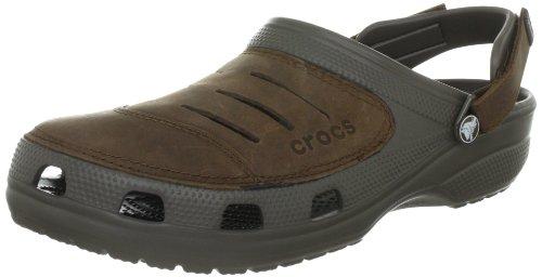 Crocs Yukon, Herren Clogs, Braun (Chocolate/Chocolate 280), 41/42 EU