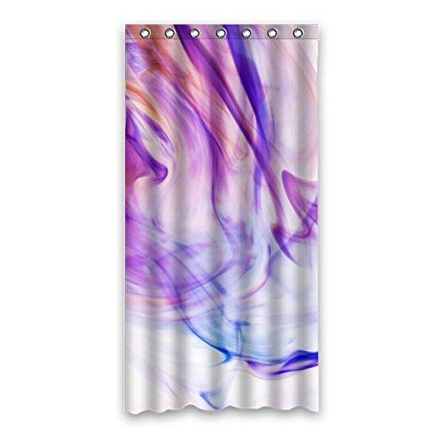 """90 cm x183 cm (36 """"x72"""") Bagno Tenda della doccia, fumo personalizzati Charme Contesto Design, misura Materiali ecocompatibili muffa impermeabile cortina di Doccia"""
