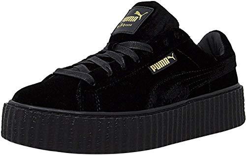 d75cb144569 Puma x Fenty by Rihanna Women Creeper Velvet (Black Velvet Black) Size 8.0