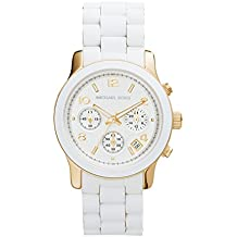 Michael Kors MK5145 - Reloj con correa de silicona , color blanco
