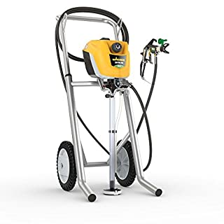 Wagner Airless ControlPro 350 M Paint Sprayer for Wall & Ceiling/Wood & Metal paint - interior and exterior usage, covers 15 m² in 2 min, 110 bar, adjustable spray pressure, 15 m hose