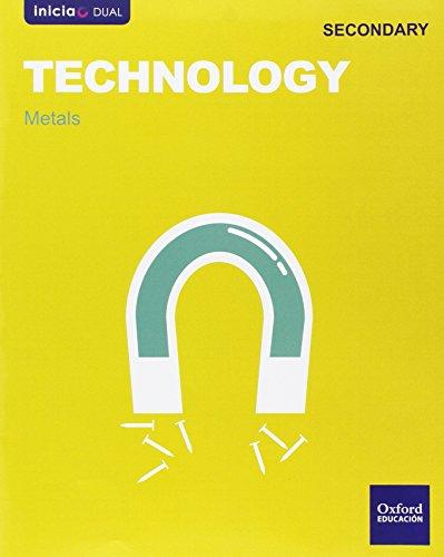 Inicia Dual Technology. Metals - 1º ESO - 9788467393934 por Varios Autores