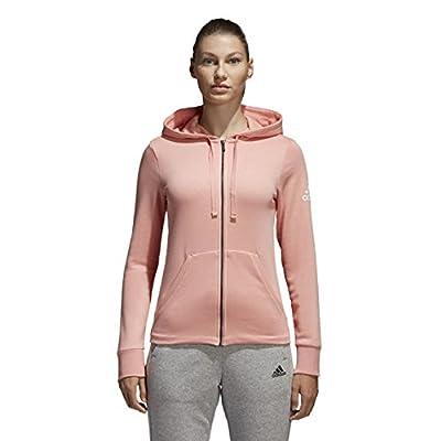adidas Damen Essentials Solid Full-Zip Hoodie von Adidas - Outdoor Shop