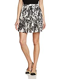 VERO MODA Damen Rock 10128518, Mini