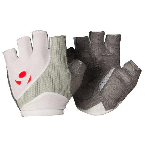 Bontrager RXL Gel Fahrrad Handschuhe kurz weiß/grau 2016: Größe: L (9)