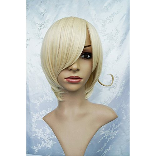 LanTing Cosplay Perücke Axis Powers Hetalia APH NORWAY Perücke Corta Blonde Gold Cosplay Party Fashion Anime Human Costume Full wigs Synthetic Haar Heat Resistant Fiber