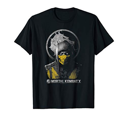 Mortal Kombat X Scorpion Bust T Shirt