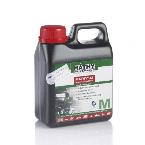 MATHY-M Motorenöl - Additiv 1 Liter zum Schutz von Motoren vor Verschleiß und vorbeugen von...