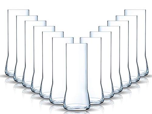 Gläser-Set Serie Legendo Frui Craftbeer Glas 6 teilig Biertulpe Biertulpen Tumbler | Füllmenge: 470 ml | Sommelier hohe Stange Verkostungsglas Craftbeer Glas Stout Draught
