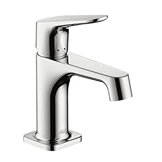 Hansgrohe Axor Citterio M 34016000 Sink Fitting Chrome with Drainage Fitting for Hand Basins