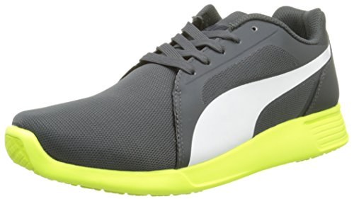 Puma St Trainer Evo, Baskets Mode Homme - Gris (Dark Shadow/White), 42 EU (8 UK)