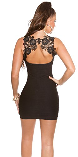 In - Stylefashion Damen Schlauch Kleid One size Schwarz
