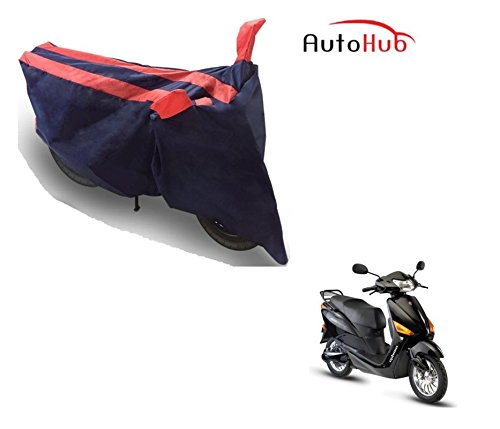 Auto Hub Bike Body Cover For Hero Electric Optima - Black Orange  available at amazon for Rs.275