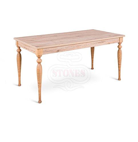 Tavolo Quadrato Allungabile Shabby Chic.Tavolo Allungabile In Legno Shabby Chic Soggiorno Cucina Salotto