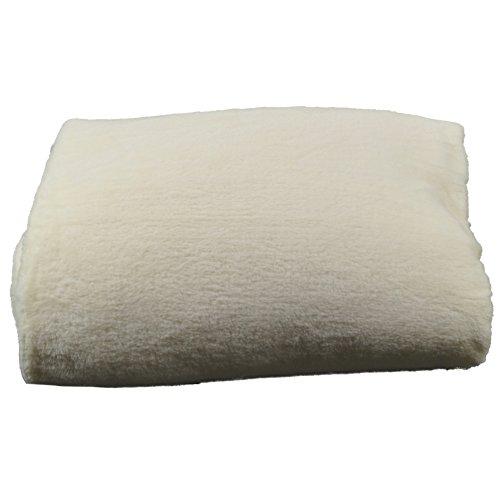 Rally Fashion Microfaser Flausch Decke Boston Weiß 300240-1 Wohndecke Flauschdecke Kuscheldecke Tagesdecke 150 x 200 cm (Weiße Bag Boston)