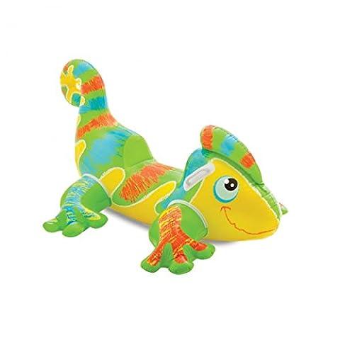 INTEX Reittier Smiling Gecko aufblasbar Pool Schwimmen Kinder Sommer Schwimmbad Baden