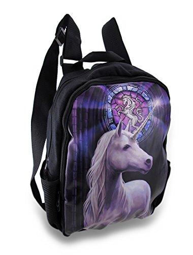 Anne Stokes Erleuchtung Einhorn 15x 12Rucksack Buch Tasche (Gurt Pferde Nylon)