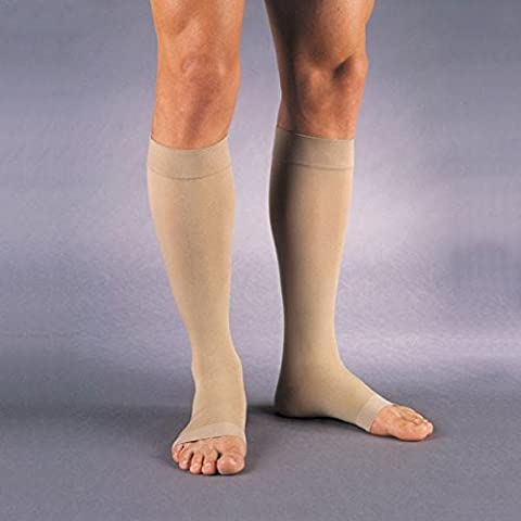 Jobst Relief 30-40 Mmhg Open Toe Knee High Unisex Support Stocking Size: Large