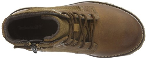 Timberland Asphalt Trail Ftk chestnut Ridge 6in Pt With Side Zip  Boys    Cold lined classic boots half length  Brown  Light Brown   5 UK