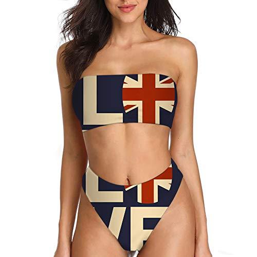 spArt Wickeln Sie Thema Bikini-Sets für Frauen Shorts hoch geschnittenen Badeanzug passenden Bikini Kleid Bademode einfügen Pads