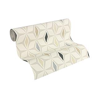 A.S. Création Vliestapete Around the world Tapete im skandinavischen Design 10,05 m x 0,53 m braun grau weiß Made in Germany 304763 30476-3
