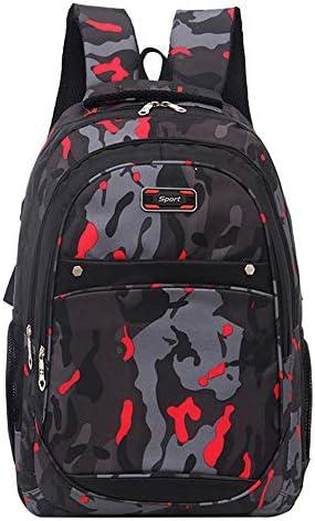 Upxiang Sac à dos école de garçons d'adolescents d'adolescents d'adolescents d'école camouflage impriFemmet des sacs d'étudiants B07MQDKL8Q | Formes élégantes  af3d37
