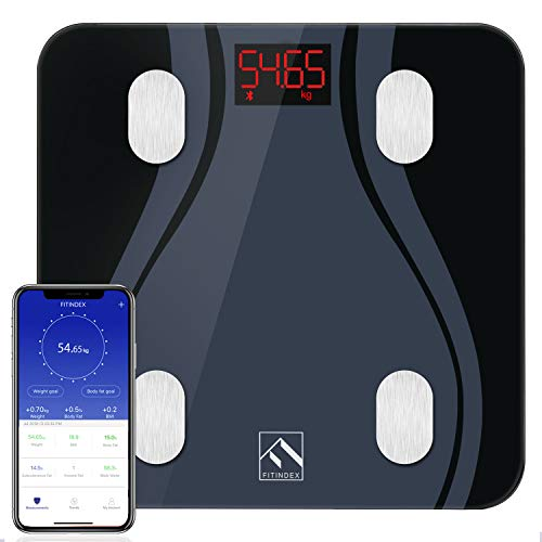 Smart Body Fat Scales, High Prec...