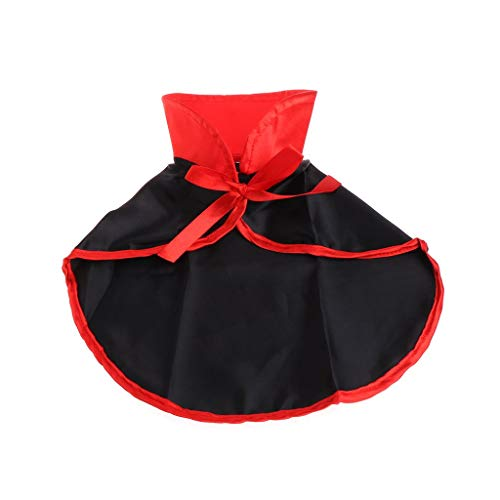 Insense Pets Cloak Vampire Costume Cape Cosplay Dog Cat Puppy Clothes Coat for Halloween